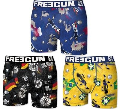 Freegun Lot 3 Boxers Collection Baby