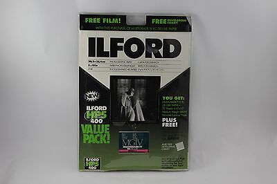 Ilford B&W Paper 25 sheets and Film ValuePak