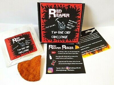 One Chip Challenge chilli! Carolina Reaper by Red Reaper