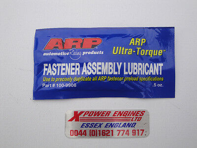 Arp Ultra Torque Lube Sachet  .5 Oz   For Bolts Studs Nuts