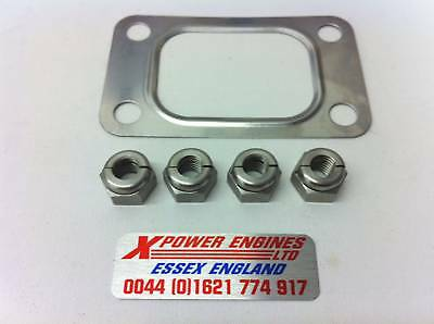 Cosworth Turbo Exhaust Gasket And Nuts T3 T34 T38 T4