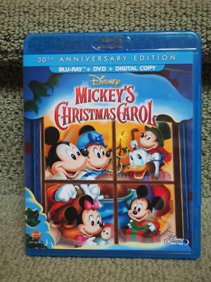 mickeys christmas carol 30th anniversary blu ray dvd digital hd - Mickeys Christmas Carol Blu Ray