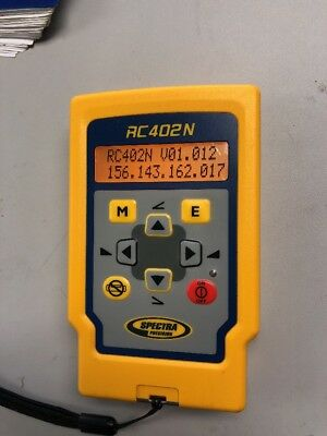 Spectra RC402N Full-Function Radio Remote Control for Self-Leveling Laser Levels