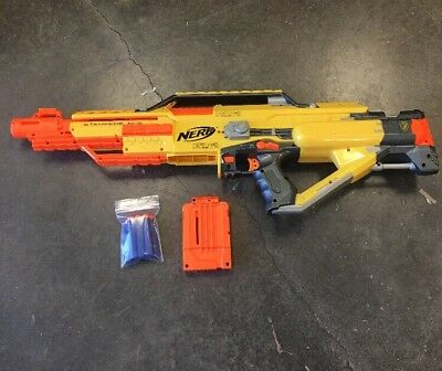 Need N-Strike Stampede ECS Automatic Dart Blaster Gun w/ Darts And Ammo Clip