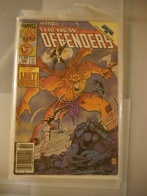 The New Defenders No 152 Feb 1986 Marvel Comic The End Of