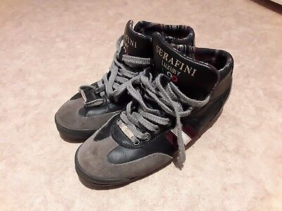 Quality pair of SERAFINI LUXURY EDITION Trainers size 40 / 6 in good condition