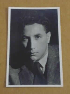 Frankie Howerd 5 x 3 Late 1950s Agency Publicity Photo (Hand Signed)