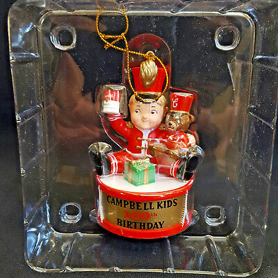 Campbell's Soup Drum Ornament #16475  New In the Box  2003