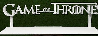 Game Of Thrones 3D Logo Stand Decor