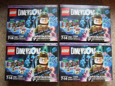 (LOT OF 4) Ghostbusters Story Pack - LEGO Dimensions ***NEW***