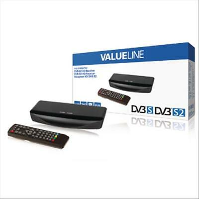 Decoder Digitale Satellitare Valueline Vls-Dvbs2-Fta1, Full Hd,Uscita Scart E Hd
