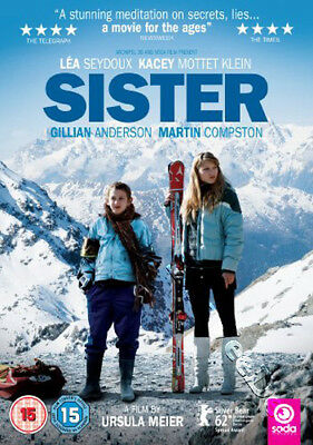 Sister NEW PAL Arthouse DVD Ursula Meier Gillian Anderson Martin Compston France