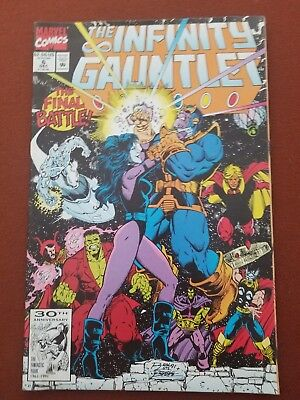 Infinity Gauntlet Issue #6 Avengers