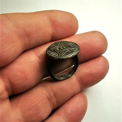 Ancient Byzantine ring around 12th century after Christ.