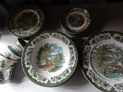Royal Tudor Country Cottage China, individually priced