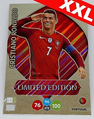 Ronaldo XXL LIMITED EDITION FIFA World Cup Russia 2018 Adrenalyn XL Panini