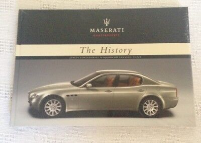 Maserati Quattroporte The History Book BRAND NEW P/N 920000965