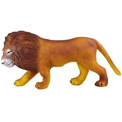 """Large 19"""" (48cm) Lion Stuffed Rubber Realistic Details Play Toy Africa King"""