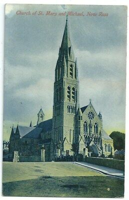 Vintage Postcard. Church Of St.Mary & Michael, New Ross. Unused. Ref:86408