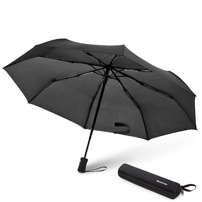 SWISSONA Automatic Windproof Umbrella, light & compact protection from wind &