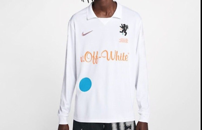 finest selection 30f0a c5572 Nike x Off White 'Football Mon Amour' Away Jersey - WHITE LARGE ! SOLD OUT  ! JC