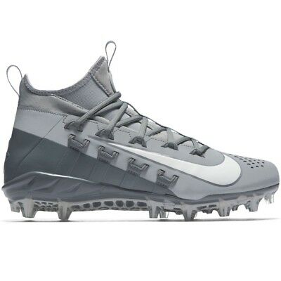 Nike Huarache 6 Elite Lacrosse LAX Cleats Grey White 880409-011
