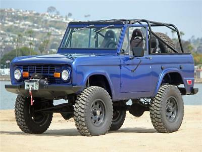 1969 Ford Bronco 4X4 BRONCO 1969 FORD BRONCO 4X4 Finished Fully Loaded Show or Road Painted Underside