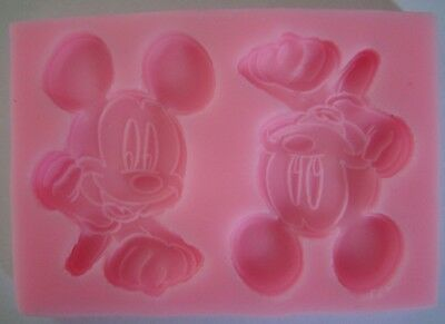 MICKEY Mouse Disney Silicone Mould Mold Cake sugarcraft biscuit Baking