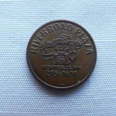 Monticello Minnesota River Road Plaza Scrub-a-Dub Car Wash token - MN