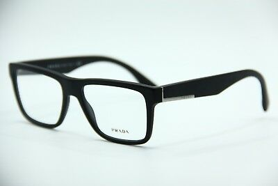 dbf0a07d2b2a NEW PRADA VPR 07S 1Bo-1O1 Matte Black Authentic Eyeglasses Vpr07S 54 ...
