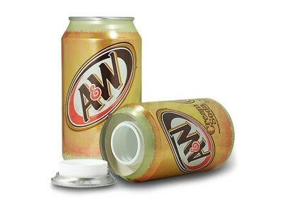 A&W Cream Soda 12oz Soda Can Diversion Safe Stash Secret Container Hidden