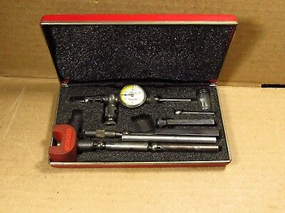 "Starrett No. 711 ""Last Word"" Dial Test Indicator with Attachments"