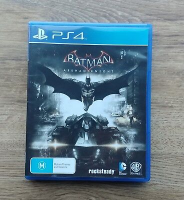 Batman: Arkham Knight (JB HIFI Purchased, PAL Version)