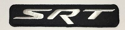 Srt Iron-On Patch Made In Usa Dodge Charger Challenger