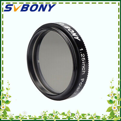 """New Svbony 1.25""""Linear Polarizer Filter Anodized Aluminum Glass for Observing"""