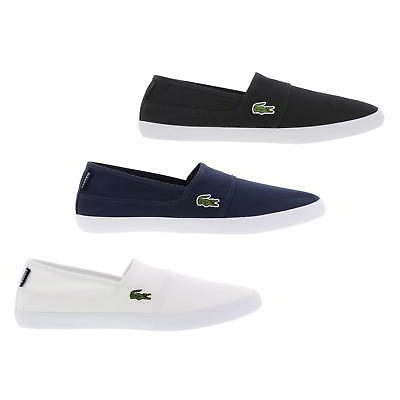 NewLacoste Marice BL 2 CAM Mens Canvas Slip On Trainers Shoes Si