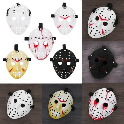 Halloween Party Horror Hockey Mask Costume Cosplay Props Christmas Easter Decor
