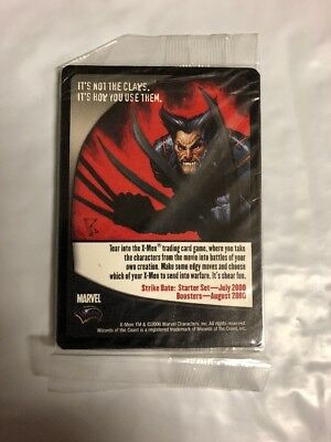 X-Men Tcg 2-Card Promo Packs - Wolverine, Wizards Of The Coast