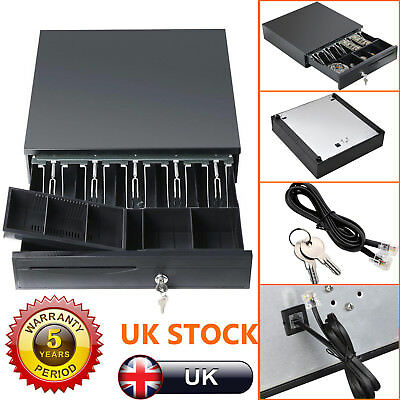 Heavy Duty Cash Drawer Base / EPoS Drawer Till Drawer with RJ11 connector Tray