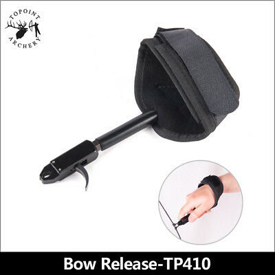 Roller Skating Bow Use  Archery Release Aid Outdoor Arrow Shoot Props 1PCS