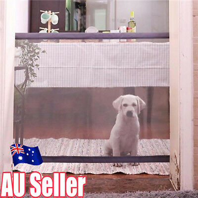 Mesh Magic Pet Dog Gate Safe Guard And Install Anywhere Pet Safety Enclosure MN