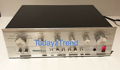 DYNACO PAT-5 Bi-FET STEREO PREAMPLIFIER CLEAN AND NICE GREAT SOUND! FULLY TESTED