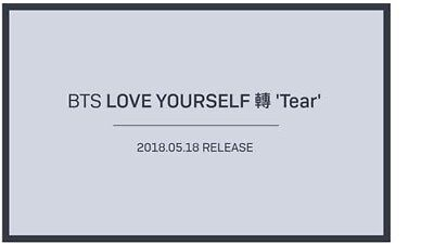 <BTS>BTS - 3rd Album [LOVE YOURSELF 轉 'Tear' ]Random Ver(first edit)
