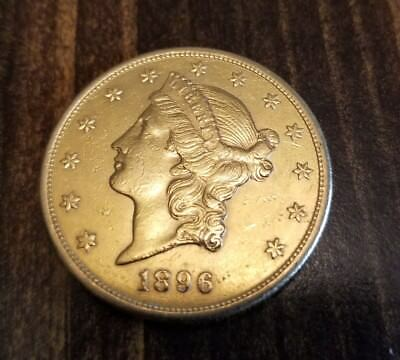 1898 S LIBERTY GOLD DOUBLE EAGLE  BU free shipping