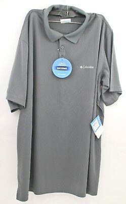 c867db158 COLUMBIA MEN'S BIG-TALL New Utilizer Polo, Grill, 2X/Tall - $14.00 ...