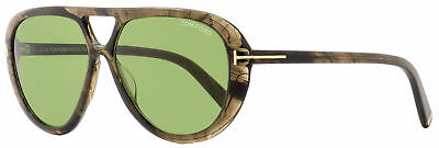 19e5d725b9d TOM FORD OVAL Sunglasses TF510 Marley 20N Gray Melange 59mm FT0510 ...