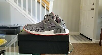 99e6b67f8 AMAZING CONDITION ADIDAS Nmd R1 Onyx Red Grey Size 13 very clean ...