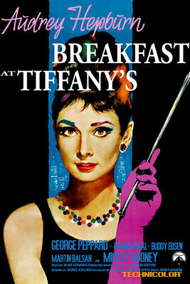 Breakfast at Tiffanys Poster 01 Movie Poster