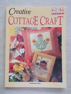 Creative Cottage Craft~24 Projects~Quilt~Embroidery~Sew~80pp P/B~1996