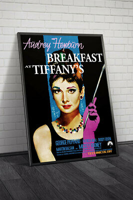 Breakfast at Tiffanys Poster 01 Movie Poster Framed